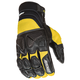 Black/Yellow Atomic X Gloves