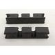 Black Coil Spring Stiffeners - 299936