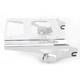 Chrome Locking 2-Up Detachable Tour-Pak Mounting Rack - MWL-427