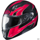 Black/Red/Gray CL-Max 2 Ridge Helmet