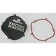 Factory Racing Black Clutch Cover - CC-01AB