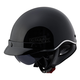 Black SC3 Half Helmet with Sunshield