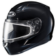 Black CL-17SN Helmet w/Frameless Dual Lens Shield