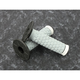ATV/SNOW Black/Gray/White Pillow Top Grips - 02-4857