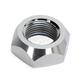 Chrome Rear Axle Nut - 0214-0886