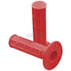 Neon Red Half Waffle Grips - 02-4024