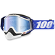 Blue Racecraft Snow Cobalt Goggle w/Dual Mirror Blue Lens - 50113-002-02