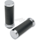 Textured Black Rubber Grips - 0630-0948