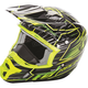 Hi-Vis/Black Kinetic Pro Cold Weather Speed Helmet