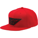 Red Lenz Snapback Hat - 101485003030