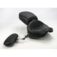 Studded Wide Touring Seat with Driver Backrest - 79190