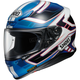 Blue/White/Black RF-1200 Valkyrie TC-2 Helmet