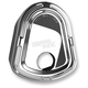Chrome Slot Track Ignition Switch Cover - 03-422
