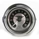 Lighted Spun Aluminum LED Air Pressure Gauge - 2212-0492
