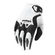 Youth White Spectrum Gloves