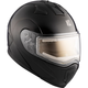 Black Tranz 1.5 RSV Modular Snow Helmet w/Electric Shield