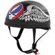 Grateful Dead Flying Steal Your Face Half Helmet