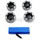 Chrome Bullet Ringz LED Turn Signal Kit - BTR-KIT-1C