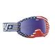 Vintage USA Klutch Goggle w/Smoke/Dark Blue Spectra Lens - 322017864422