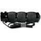 Black Air Cushioned Heated Grips - AIR-90-ANO-HT