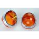 Visor Style Bezel and Lens for Deuce-Style Turn Signals - 2020-0397