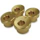 Brass 10° Angle Handlebar Riser Adaptors - LA-7400-11