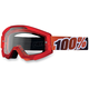 Fire Red Strata Goggles - 50400-003-02