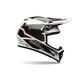 Black/White MX-9 Blockade Helmet