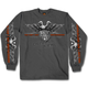 Charcoal Brotherhood Eagle Long Sleeve T-Shirt