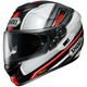 Black/Red/White GT-Air Dauntless TC-1 Helmet