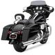Chrome 2 into 1 PowrFlo Exhaust System - 6450