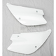Rear White Side Panel Number Plate - 2043400002