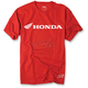 Red Honda Horizontal T-Shirt