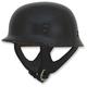 Gloss Black FX-88 Half Helmet