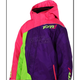 Childs Fuchsia/Purple/Lime Vertical Jacket