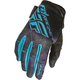 Women's Purple/Blue Kinetic Gloves
