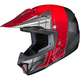 Youth Red/Gray/Silver CL-XY 2 Cross-Up MC-1 Helmet