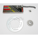 Quick Acceleration 520GXW Chain Kit with Light Weight Sprockets - 3106-019S