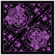 Womens Purple Sugar Skull Bandana - BAB2001