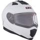 Matte White Tranz 1.5 RSV Modular Snow Helmet