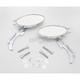 Oval Mirror w/Flame Stem - 0640-0484