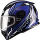 Blue/White/Black FF49 Sektor Snowmobile Helmet