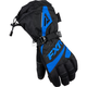 Womens Black/Blue Fusion Gloves
