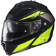 Black/Hi Viz Yellow IS-MAX II MC-3H Elemental Modular Helmet