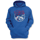 Blue Flag Pullover Hoody