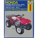 Honda TRX300 Repair Manual - 2125