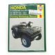 Honda Foreman 400/450 Repair Manual - 2465