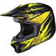 Yellow/Black MC-3 CL-X7 Pop'N Lock Helmet
