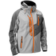 Gray/Orange Barrier Tri-Lam Jacket