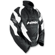 White Throttle Pullover Jacket